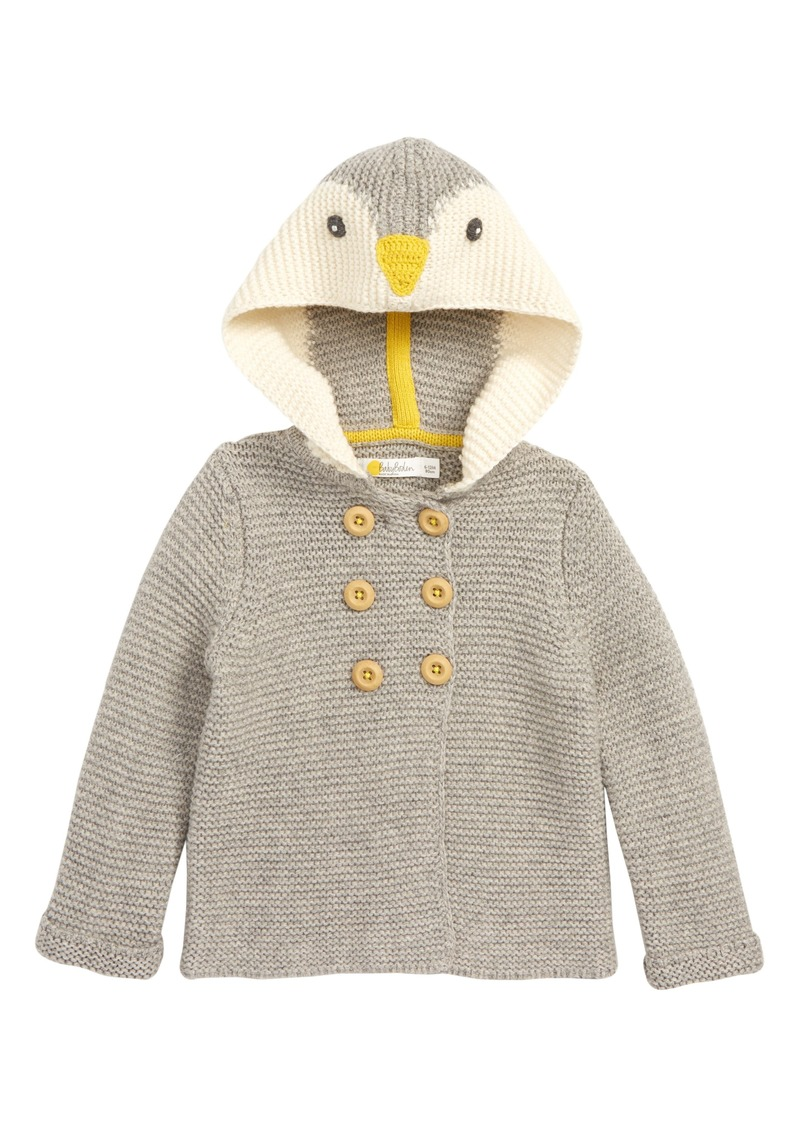 7730c2781 Mini Boden Mini Boden Hooded Sweater Jacket (Baby   Toddler Boys ...