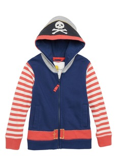 Mini Boden Novelty Pirate Hoodie (Toddler Boys, Little Boys & Big Boys)