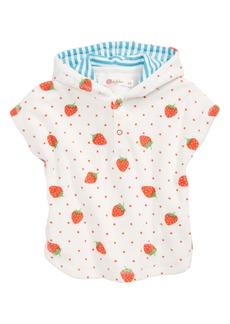 Mini Boden Novelty Toweling Pullover (Baby Girls & Toddler Girls)