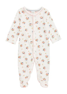 Mini Boden Organic Cotton One-Piece Pajamas (Baby Girls)