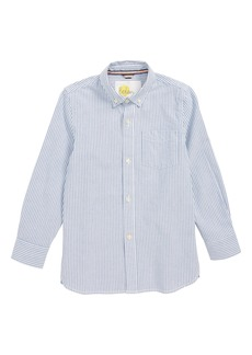 Mini Boden Oxford Shirt (Toddler Boys, Little Boys & Big Boys)