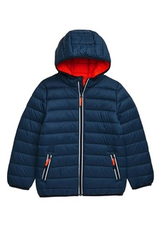Mini Boden Packaway Puffer Jacket (Toddler Boys, Little Boys & Big Boys)
