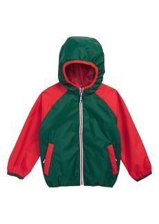 Mini Boden Packaway Rain Jacket (Toddler Boys, Little Boys & Big Boys)