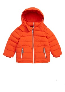 Mini Boden Padded Hooded Jacket