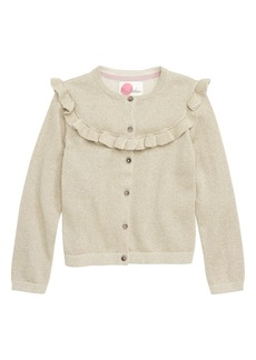 Mini Boden Party Sparkle Cardigan (Toddler Girls, Little Girls & Big Girls)