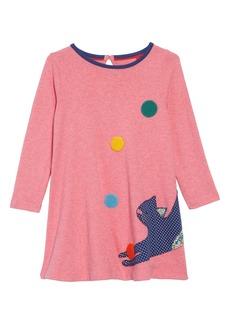 Mini Boden Patchwork Appliqué Dress (Toddler Girls, Little Girls & Big Girls)