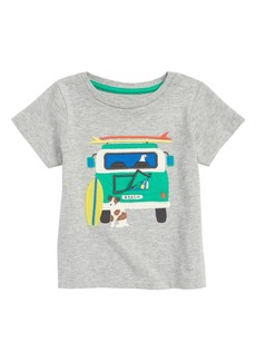 Mini Boden Peekaboo T-Shirt (Baby Boys)