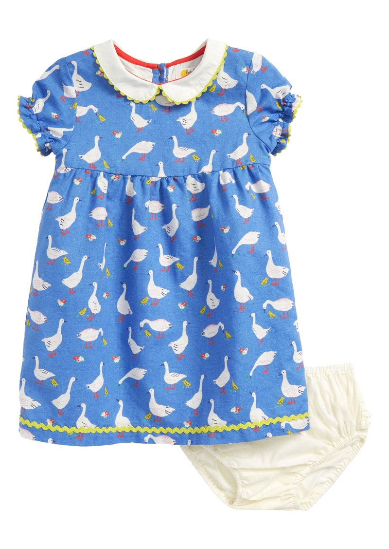 1bab210f2272 Mini Boden Mini Boden Peter Pan Collar Dress (Baby Girls & Toddler ...