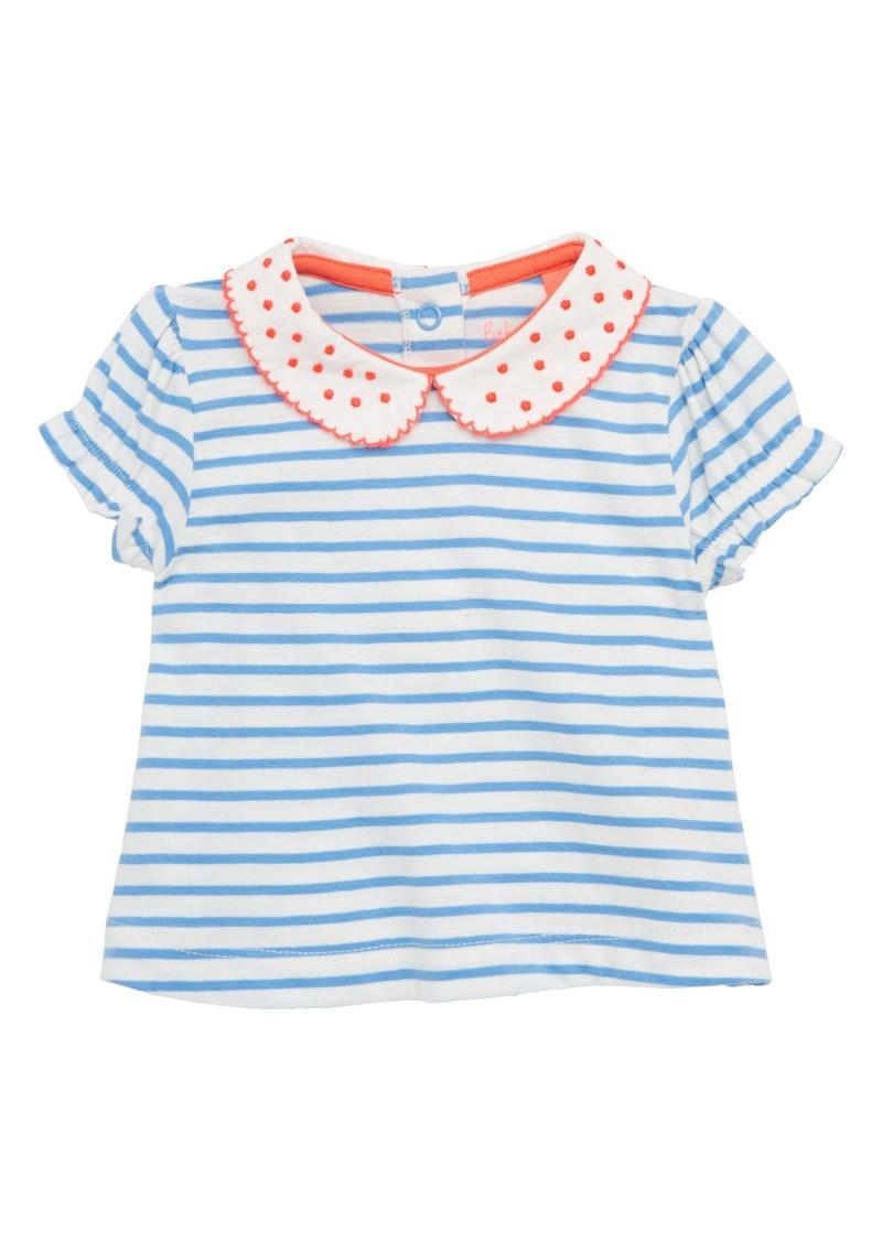 e52e06fa7073 Mini Boden Mini Boden Peter Pan Collar Tee (Baby Girls)   Tshirts
