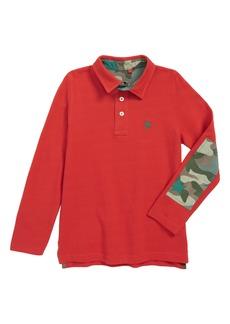 Mini Boden Piqué Polo Shirt (Toddler Boys, Little Boys & Big Boys)