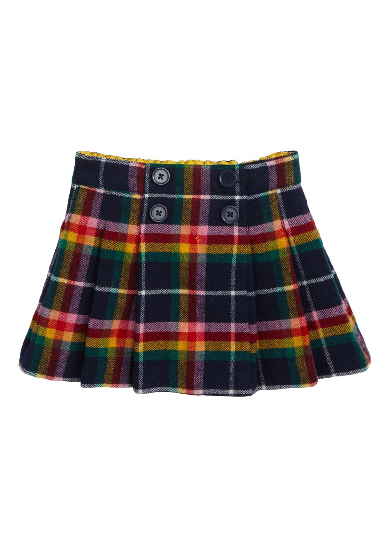 Mini boden mini boden plaid kilt skirt toddler girls for Shop mini boden