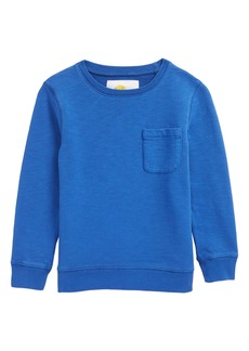 Mini Boden Pocket Crewneck Sweatshirt (Toddler Boys, Little Boys & Big Boys)