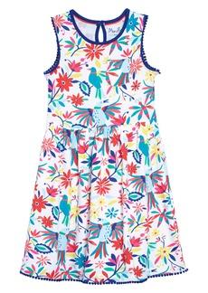 Mini Boden Pocket Detail Jersey Dress (Toddler Girls, Little Girls & Big Girls)