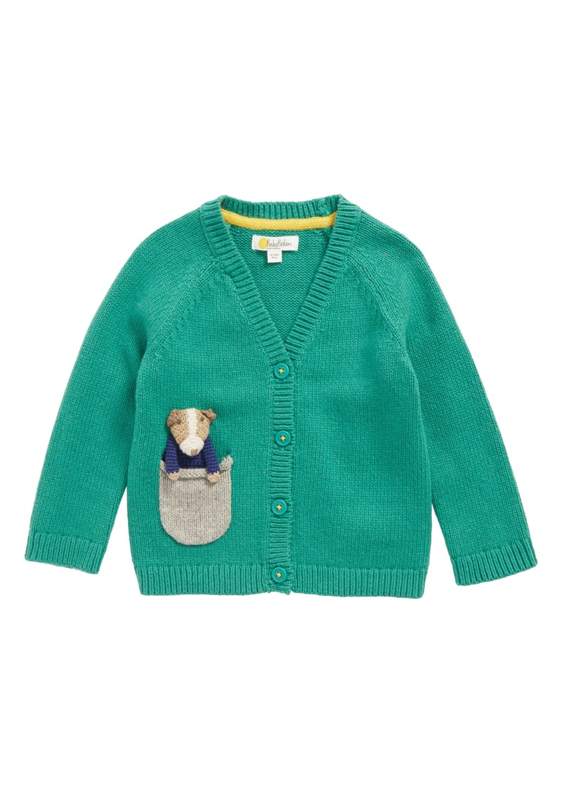 On sale today mini boden mini boden pocket pet cardigan for Mini boden sale deutschland
