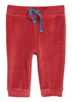 Mini Boden Pocket Pet Velour Pants (Baby & Toddler)