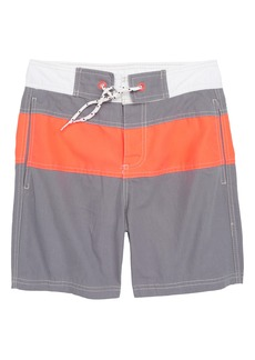Mini Boden Poolside Swim Trunks (Little Boys & Big Boys)