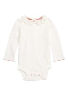 Mini Boden Pretty Collared Bodysuit (Baby Girls & Toddler Girls)