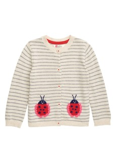 Mini Boden Pretty Knit Cardigan (Toddler Girls)