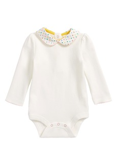 Mini Boden Pretty Peter Pan Collar Bodysuit (Baby Girls & Toddler Girls)