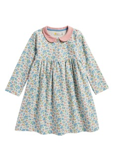 Mini Boden Pretty Peter Pan Collar Jersey Dress (Baby Girls & Toddler Girls)