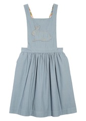 Mini Boden Pretty Pinafore Dress (Toddler Girls, Little Girls & Big Girls)
