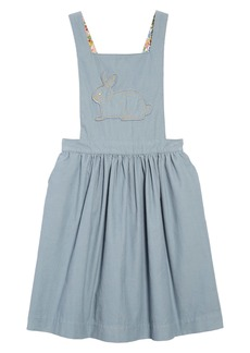 Mini Boden Pretty Pinafore Dress (Toddler Girls, Little Girls & Big Girls)