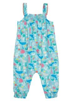 Mini Boden Pretty Summer Romper (Baby Girls)