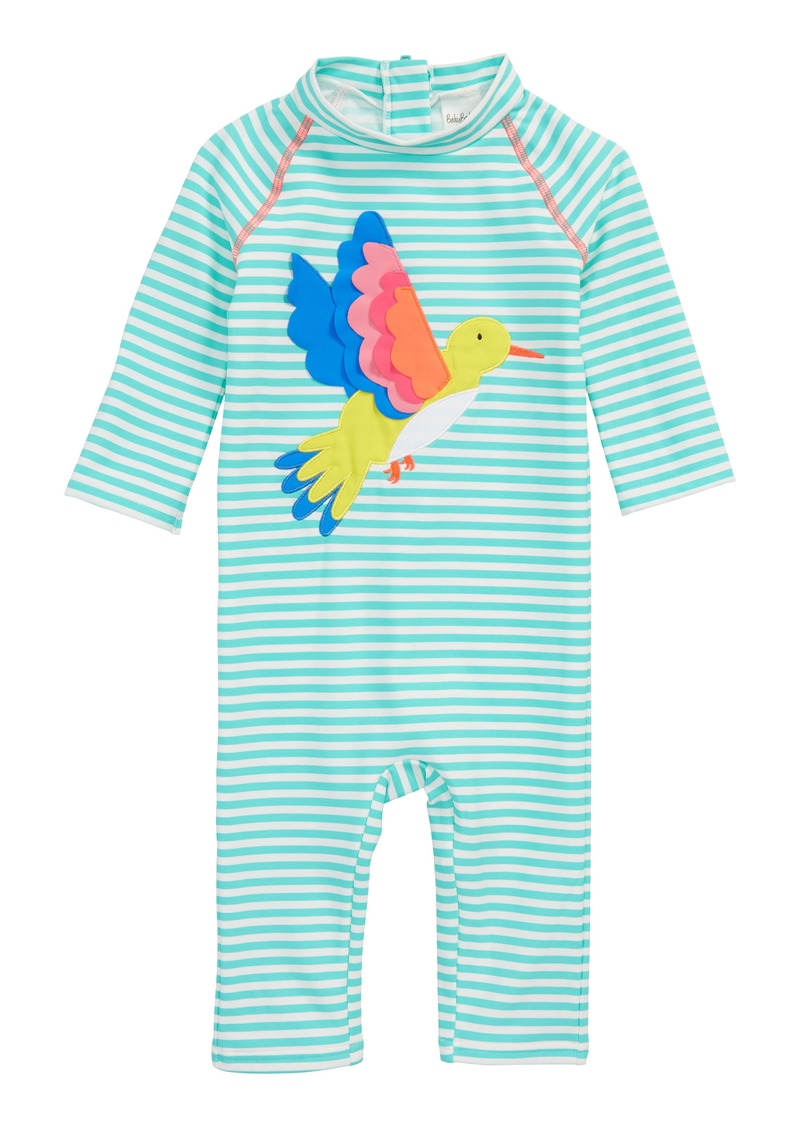 71fd758883 Mini Boden Pretty Surf One-Piece Rashguard Swimsuit (Baby Girls & Toddler  Girls)