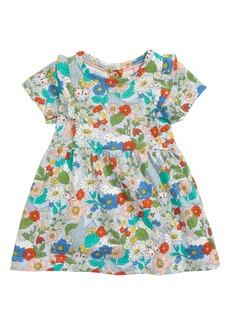 Mini Boden Print Jersey Dress (Baby)