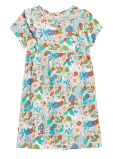 Mini Boden Print Jersey Dress (Toddler Girls)