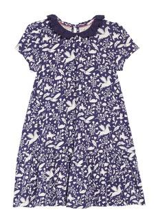 Mini Boden Print Jersey Dress (Toddler Girls, Little Girls & Big Girls)