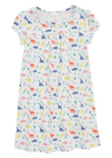 Mini Boden Print Nightgown (Toddler Girls, Little Girls & Big Girls)