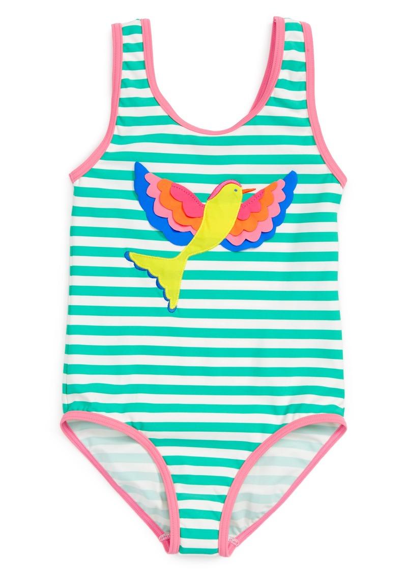 95ddb5df29d Mini Boden Print One-Piece Swimsuit (Toddler Girls, Little Girls & Big Girls
