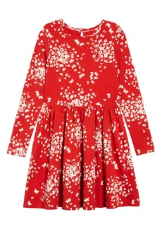 Mini Boden Print Twirly Jersey Dress (Toddler Girls, Little Girls & Big Girls)