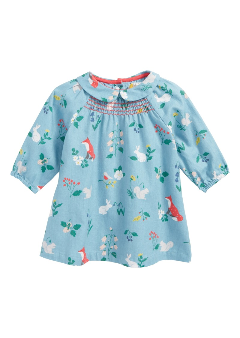 Mini boden mini boden printed smock dress baby girls for Mini boden sale deutschland