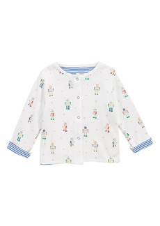 Mini Boden Reversible Cardigan (Baby Boys)