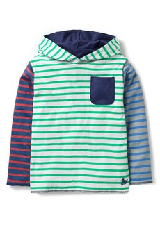 Mini Boden Reversible Hoodie (Toddler Boys, Little Boys & Big Boys)
