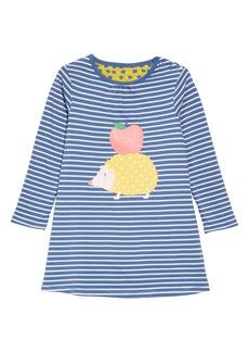 Mini Boden Reversible Jersey Dress (Baby Girls & Toddler Girls)