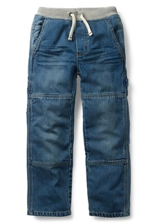 Mini Boden Rib Waist Carpenter Jeans (Toddler Boys, Little Boys & Big Boys)