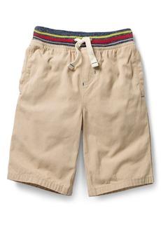 Mini Boden Rib Waist Shorts (Toddler Boys, Little Boys & Big Boys)