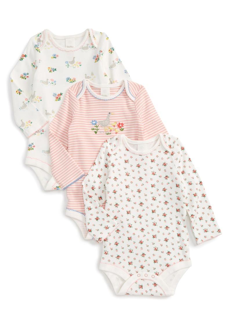 dbc926624c9 SALE! Mini Boden Mini Boden Riverside Ducks 3-Pack Bodysuits (Baby ...