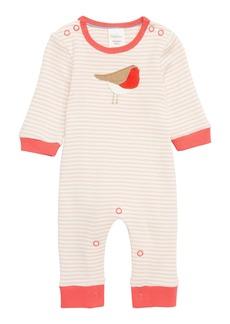 Mini Boden Robin Jersey Romper (Baby)