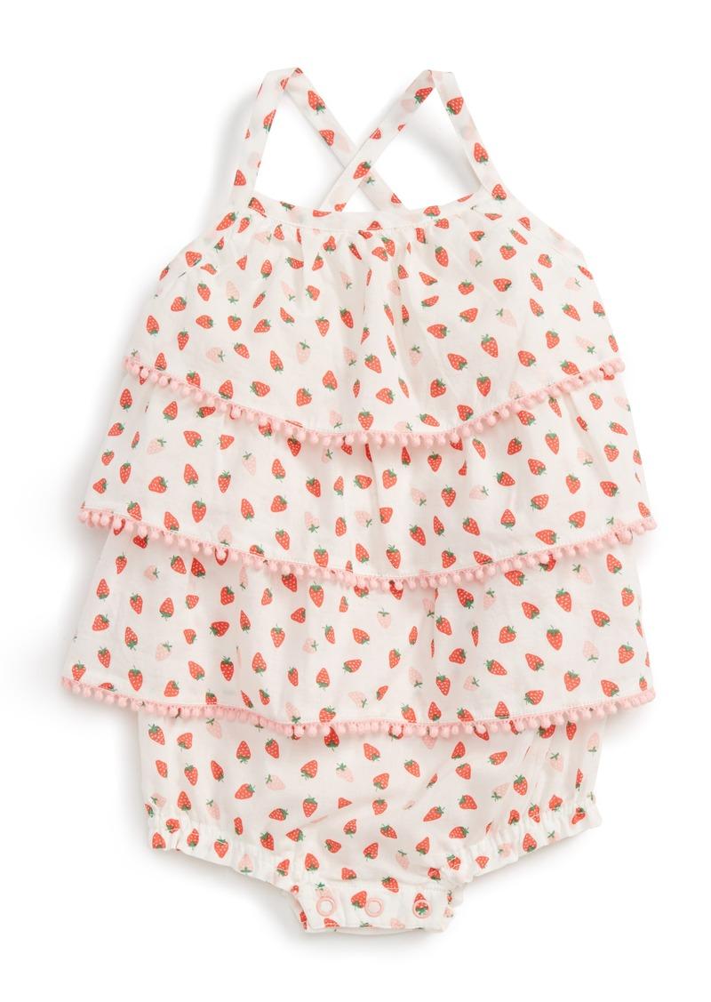 be2c48c7eb1f Mini Boden Mini Boden Ruffle Bubble Romper (Baby Girls)