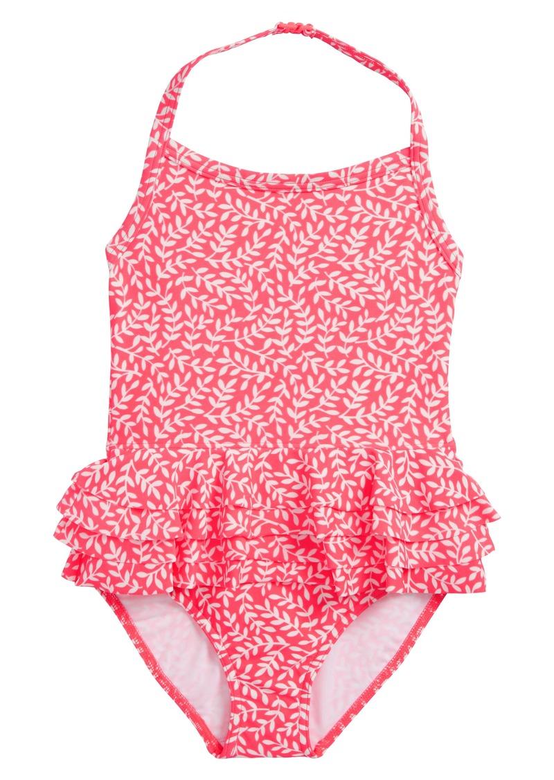 4ecfb299cc Mini Boden Mini Boden Ruffle Swimsuit (Toddler Girls, Little Girls ...