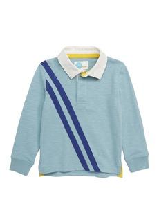 Mini Boden Rugby Polo Shirt (Toddler Boys, Little Boys & Big Boys)