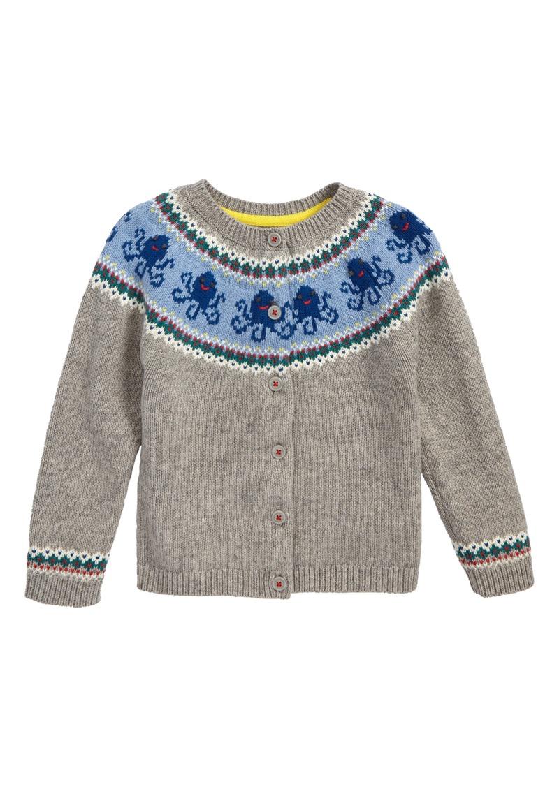 Mini Boden Mini Boden Sea Creature Cardigan Baby Toddler Sweaters