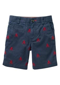 Mini Boden Skull Chino Shorts (Toddler Boys, Little Boys & Big Boys)