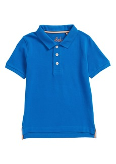 Mini Boden Skull Piqué Polo (Toddler Boys, Little Boys & Big Boys)
