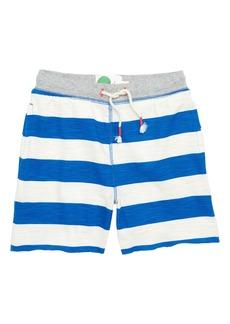 Mini Boden Slub Jersey Shorts (Toddler Boys, Little Boys & Big Boys)