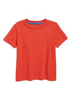 Mini Boden Slub Knit T-Shirt (Toddler Boys, Little Boys & Big Boys)